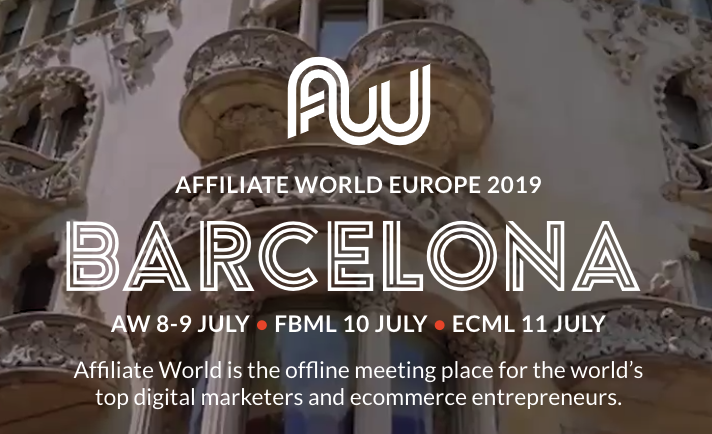 affiliate world europe barcelona 2019